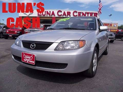 2002 Mazda Protege for sale at LUNA CAR CENTER in San Antonio TX