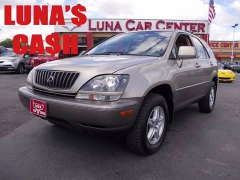 1999 Lexus RX 300 for sale at LUNA CAR CENTER in San Antonio TX