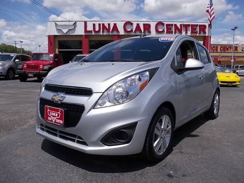 2014 Chevrolet Spark for sale at LUNA CAR CENTER in San Antonio TX