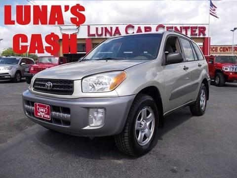 2003 Toyota RAV4 for sale at LUNA CAR CENTER in San Antonio TX