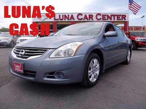 2010 Nissan Altima for sale at LUNA CAR CENTER in San Antonio TX