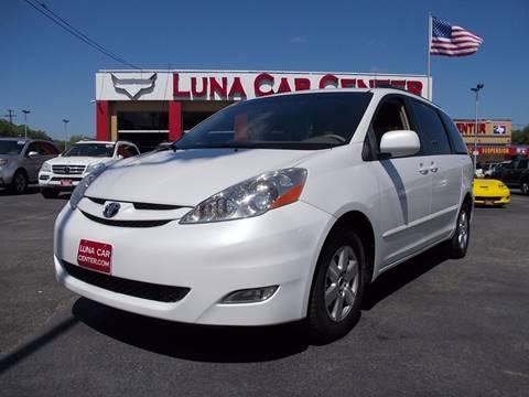 2008 Toyota Sienna for sale at LUNA CAR CENTER in San Antonio TX
