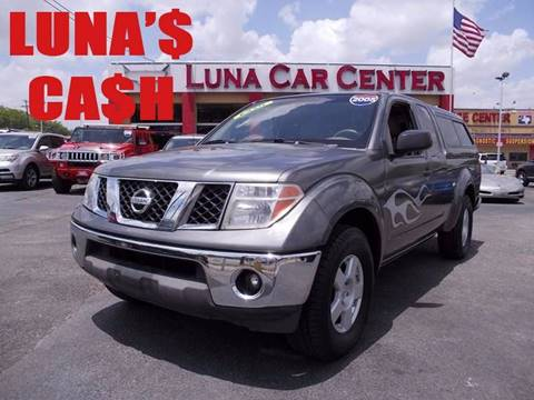 2005 Nissan Frontier for sale at LUNA CAR CENTER in San Antonio TX
