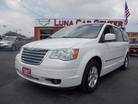2010 Chrysler Town and Country for sale at LUNA CAR CENTER in San Antonio TX