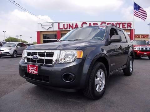 2008 Ford Escape for sale at LUNA CAR CENTER in San Antonio TX