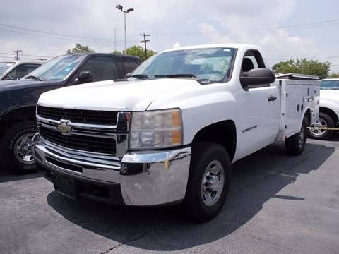 2007 Chevrolet C/K 2500 Series for sale at LUNA CAR CENTER - Commercial Vehicles in San Antonio TX