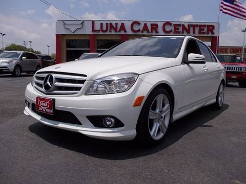2010 Mercedes-Benz C-Class for sale at LUNA CAR CENTER - Commercial Vehicles in San Antonio TX