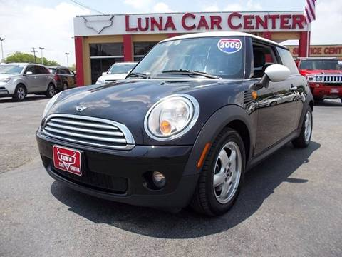 2009 MINI Cooper for sale at LUNA CAR CENTER - Commercial Vehicles in San Antonio TX