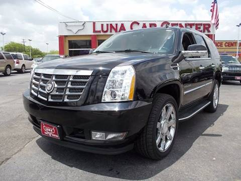 2012 Cadillac Escalade for sale at LUNA CAR CENTER in San Antonio TX