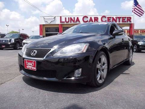 2010 Lexus IS 250 for sale at LUNA CAR CENTER in San Antonio TX