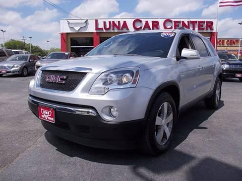 2010 GMC Acadia for sale at LUNA CAR CENTER in San Antonio TX