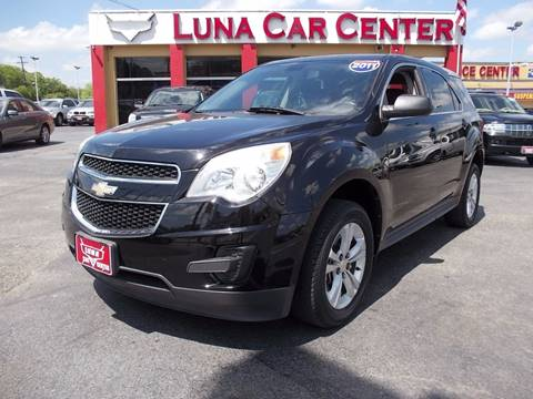 2011 Chevrolet Equinox for sale at LUNA CAR CENTER in San Antonio TX