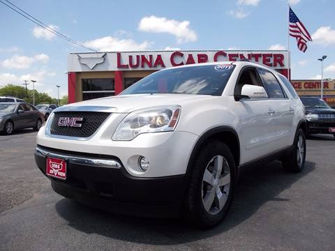 2011 GMC Acadia for sale at LUNA CAR CENTER in San Antonio TX