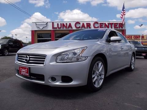 2014 Nissan Maxima for sale at LUNA CAR CENTER in San Antonio TX