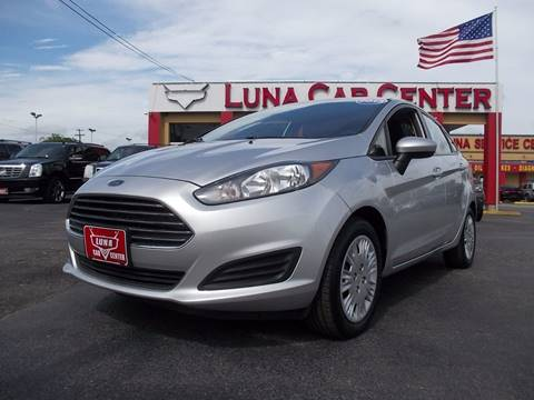 2014 Ford Fiesta for sale at LUNA CAR CENTER in San Antonio TX