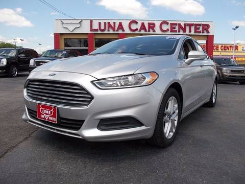 2013 Ford Fusion for sale at LUNA CAR CENTER in San Antonio TX