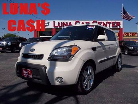 2010 Kia Soul for sale at LUNA CAR CENTER in San Antonio TX