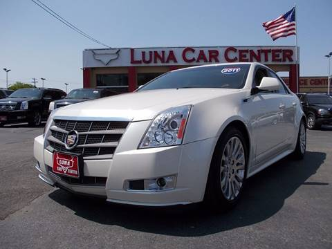 2011 Cadillac CTS for sale at LUNA CAR CENTER in San Antonio TX