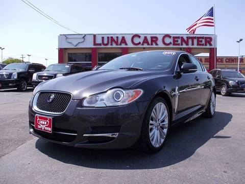 2011 Jaguar XF for sale at LUNA CAR CENTER in San Antonio TX