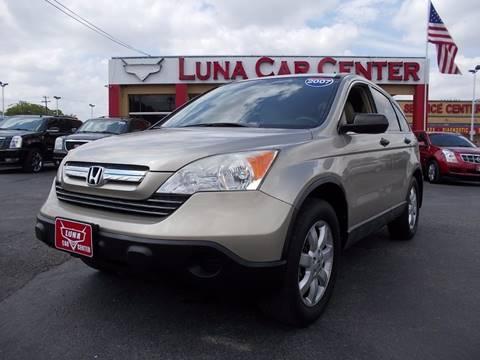 2007 Honda CR-V for sale at LUNA CAR CENTER in San Antonio TX
