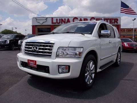 2010 Infiniti QX56 for sale at LUNA CAR CENTER in San Antonio TX
