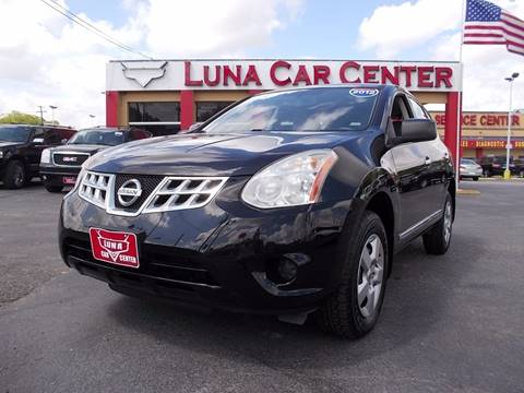 2012 Nissan Rogue for sale at LUNA CAR CENTER in San Antonio TX