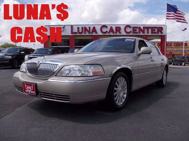 2004 Lincoln Town Car Ultimate 4dr Sedan In San Antonio Tx Luna