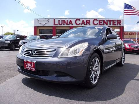 2008 Infiniti G35 for sale at LUNA CAR CENTER in San Antonio TX