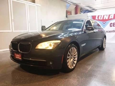 2012 BMW 7 Series for sale at LUNA CAR CENTER in San Antonio TX