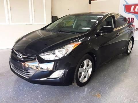 2013 Hyundai Elantra for sale at LUNA CAR CENTER in San Antonio TX