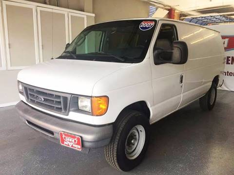 2007 Ford E-Series Cargo for sale at LUNA CAR CENTER in San Antonio TX