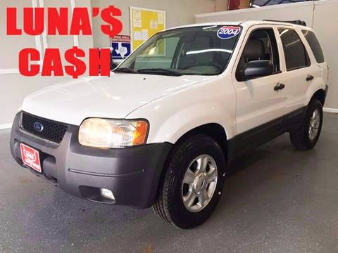 2004 Ford Escape for sale at LUNA CAR CENTER in San Antonio TX