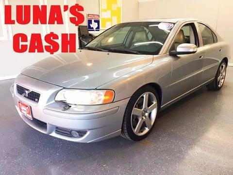 2007 Volvo S60 for sale at LUNA CAR CENTER in San Antonio TX