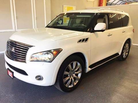 2012 Infiniti QX56 for sale at LUNA CAR CENTER in San Antonio TX