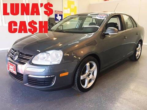 2008 Volkswagen Jetta for sale at LUNA CAR CENTER in San Antonio TX