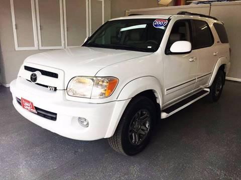2007 Toyota Sequoia for sale at LUNA CAR CENTER in San Antonio TX