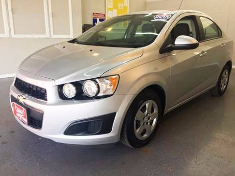 2015 Chevrolet Sonic for sale at LUNA CAR CENTER in San Antonio TX