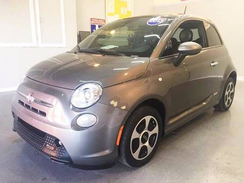 2013 FIAT 500e for sale at LUNA CAR CENTER in San Antonio TX