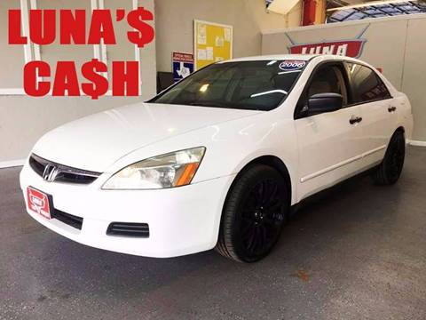 2006 Honda Accord for sale at LUNA CAR CENTER in San Antonio TX