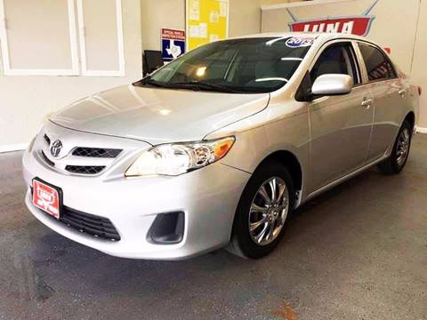 2013 Toyota Corolla for sale at LUNA CAR CENTER in San Antonio TX