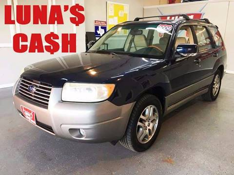 2006 Subaru Forester for sale at LUNA CAR CENTER in San Antonio TX