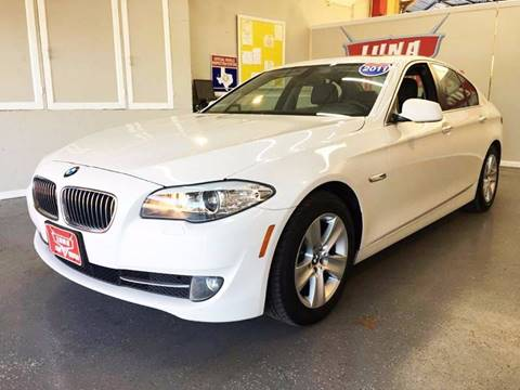 2011 BMW 5 Series for sale at LUNA CAR CENTER in San Antonio TX