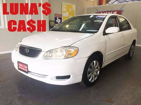 2007 Toyota Corolla for sale at LUNA CAR CENTER in San Antonio TX