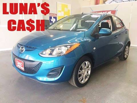 2011 Mazda MAZDA2 for sale at LUNA CAR CENTER in San Antonio TX