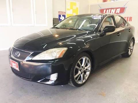 2008 Lexus IS 250 for sale at LUNA CAR CENTER in San Antonio TX