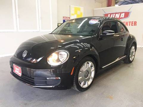 2012 Volkswagen Beetle for sale at LUNA CAR CENTER in San Antonio TX