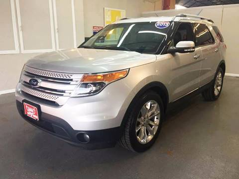 2013 Ford Explorer for sale at LUNA CAR CENTER in San Antonio TX