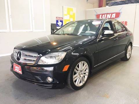 2009 Mercedes-Benz C-Class for sale at LUNA CAR CENTER in San Antonio TX