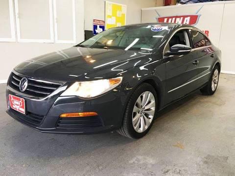 2012 Volkswagen CC for sale at LUNA CAR CENTER in San Antonio TX