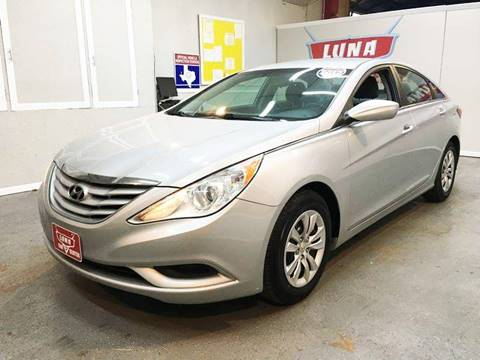2012 Hyundai Sonata for sale at LUNA CAR CENTER in San Antonio TX